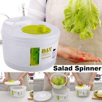 Vegetables Dryer Salad Spinner Fruits Wash Clean Basket Storage Washer Drying