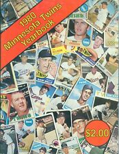 1980 MINNESOTA TWINS YEARBOOK MAGAZINE  SMALLEY MARSHALL LANDREAUX
