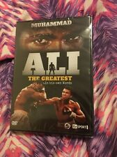 MUHAMMAD ALI THE GREATEST- IN HIS OWN WORDS- (DVD) NEW AND SEALED