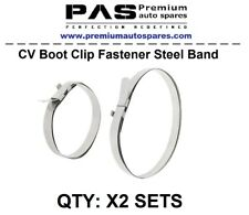 Constant Velocity CV Boot Clamp Clip Fastener Steel Band