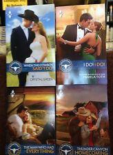 Harlequin Romance Montana Mavericks 2015 four pack new paperback set 861