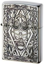 ZIPPO Lighter N0200 Classic Skull A Silver 251963 Best Buy Gift from Japan