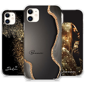 PERSONALISED PHONE CASE INITIALS NAME SHOCKPROOF COVER APPLE IPHONE 8 XR 11 12