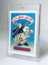 2011 Garbage Pail Kids UG FAN SET 1 NASTY NICK Custom Farsi Card ORIGINAL PROOF