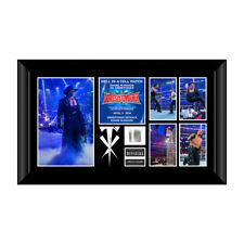WWE Undertaker WrestleMania 32 shane mcmahon Frame Plaque picture 12/500 rare