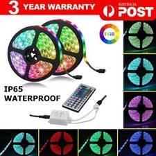 10/20M WATERPROOF LED RGB STRIP LIGHTS 3528 400 LEDS 12V + 44 KEY IR CONTROLLER