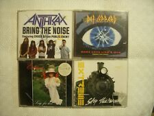 4 MINI CD (DEF LEPPARD-ANTHRAX-EXTREME)