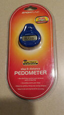 Sportline Goaltrack SB4202BL Blue Dual Function Steps & Distance Pedometer (NEW)