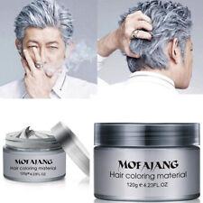 Unisex DIY Hair Color Wax Mud Dye Cream Temporary Modeling 8 Colors Mofajang