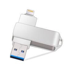 Kootion 3in1 Port USB 3.0 64GB USB Flash Pen Drive Thumb Memory Storage Stick
