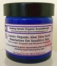 Natural Organic 'Sensitive Skin' Luxury Face Cream with SPF15 -60ml