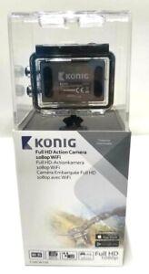 Konig Full HD Action Camera 1080p Wi-Fi Silver CSACW100
