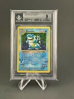 Blastoise Shadowless - Base Set Holo 2/102 -  BGS 9 - Pokemon Card Mint