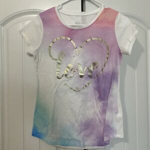 Justice Girls Tie Die Effect Shirt Size 14-16