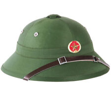 Casque Colonial, Chapeau de Jungle Tropical Brousse Nam Vietnam Vietcong