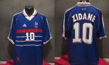 maillot FRANCE 98 WORLD CUP ZIDANE 1998  FOOT shirt camiseta jersey trikot