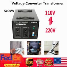 5000W Voltage Regulator Converter Transformer Step Up/Down 110V-220V Heavy Duty