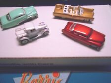 Hot Wheels - Legends 4 car set - Barris ( Kustom ) 2 Mercury - Pickup - Cadillac