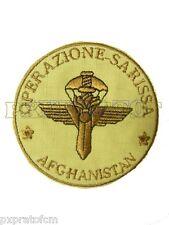 Patch Operazione Sarissa Afghanistan GIS Gruppo Intervento Speciale Carabinieri