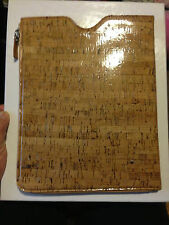 Maison Margiela Cork for  iPad 2 0r 3 cover /  case NWT with side pocket