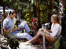 PHOTO URSULA ANDRESS & SEAN CONNERY (JAMES BOND 007 CONTRE DR. NO) /11X15 CM # 1