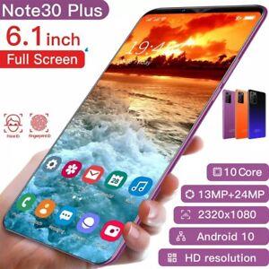 2021 New Smartphone 6.1 Inch 6GB-128GB Smart Phone 4G Facial Unlocking 13MP+24MP