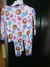 2 Pc Girls Pajamas Size 2T