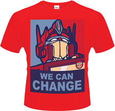 Transformers - Optimus Prime We Can Change T-Shirt Homme / Man - Taille / Size M