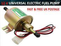 12V Petrol Diesel Gas Fuel Pump Universal Cars Inline Electric Pump *HEP-02A*