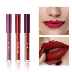 6 Pcs/Set Liquid Lipstick Waterproof Long Lasting Matte Pink Pigment Lip Glaze