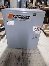 Saftronics Enclosed Soft Start 2031201 200hp Output 0 460v 0 240a Used