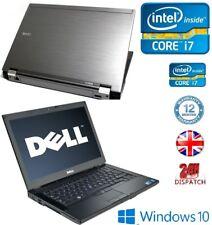 """Dell Latitude E6410 14.1"""" Core i7 - 8GB RAM - 1TB HDD - Windows 10 Pro Laptop"""
