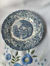 Mill Stream made in England by Johnson Bros porcelain collector's plate