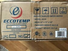 Eccotemp 20HI Indoor 6.0 GPM Natural Gas Tankless Water Heater