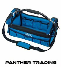 Draper 420mm Tote Tool Bag 5 External & 10 Internal Pockets Adjustable - 85751