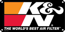 89-16167-1 K/&N AIR FILTER BLACK DECAL STICKER 381x762mm BLACK NEW GENUINE