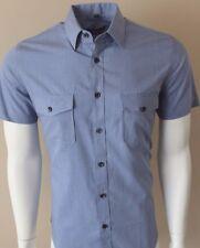 Dominic Stefano Mens Italian design Double Pocket shirt *S-3XL* £14.99 (345s)