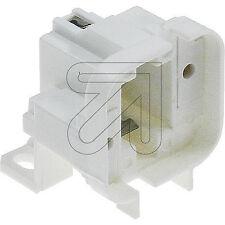 Fassung Lampenfassung Sparlampe ESL Typ G24d-2 u/o. GX24d-2 weiß Ersatz  608105