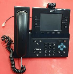 """Cisco CP-9951 5"""" Color Video VoIP Phone: Handset, Camera, and Stand CP-9951-C-K9"""