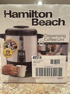 Hamilton Beach 40514 40-Cup Dispensing Coffee Urn
