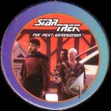 STAR TREK THE NEXT GENERATION, CMDR RIKER & PICARD, STARTDISC POG MILK CAP, # 41