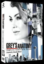 GREY'S ANATOMY SEASON 14 DVD Set: Brand NEW: Genuine US Release: Ready to Post!