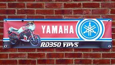 BR36 YAMAHA RD350 YPVS LC POWERVALVE CLASSIC RACING BANNER WORKSHOP SIGN