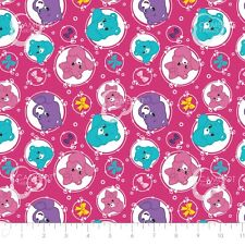 Care Bear Sparkle & Shine - Arrows in Berry Hot Pink Cotton Fabric By The Yard
