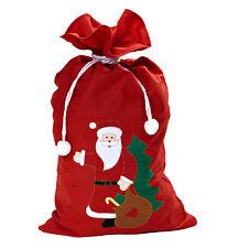 Weihnachtsmann Nikolaus Geschenke Sack Weihnachtssack rot 60 x 100 cm