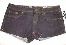 FOX 'DYLAN' INDUSTRIAL RINSE SHORT SHORTS SIZE 12