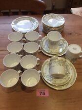 Royal Stafford Fine Bone China 11 X TRIO Cups & Saucers & Side Plates ENGLAND