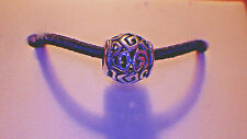"""AUTHENTIC PANDORA 925 STERLING SILVER """"AMAZING"""" SPACER~EUROPEAN CHARM BEAD ALE"""