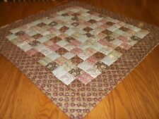 """New Tablecloth/Table Topper, 29"""" x 28 1/2"""",  Handcrafted & Hand Quilted"""