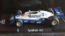 Tyrrell 008-anno 1978 Didier Pironi-IXO Altaya (convertion) scala 1:43